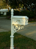 White Home Mailboxes