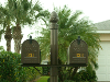 Double Residential Mailboxes